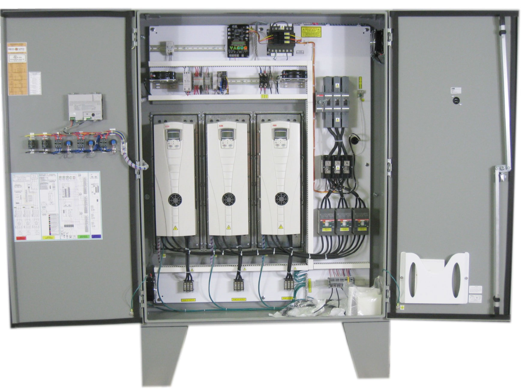 Multi Plex Series custom control panels precision automation systems vfd control panel wiring diagram at gsmx.co
